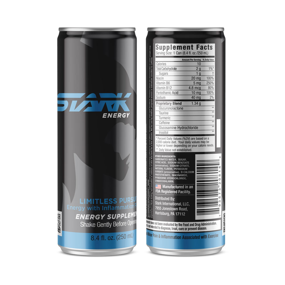 Stark Energy Blue Label
